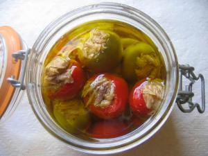 marinaded-tuna-stuffed-peppers