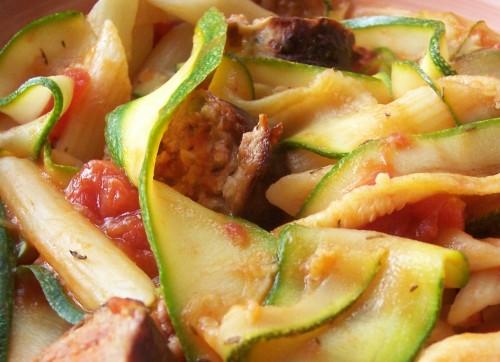 100_4026 Sausage & Courgette Pasta