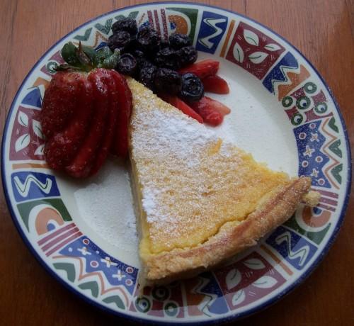 100_2336 Tarte au Citron with berries