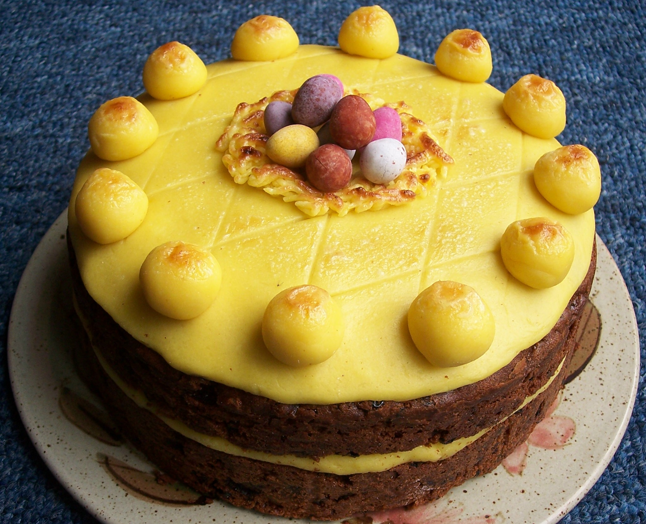 How To Make Simnel Cake