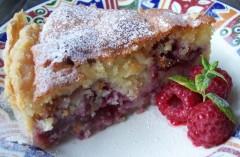 100_7608 Raspberry Bakewell Tart