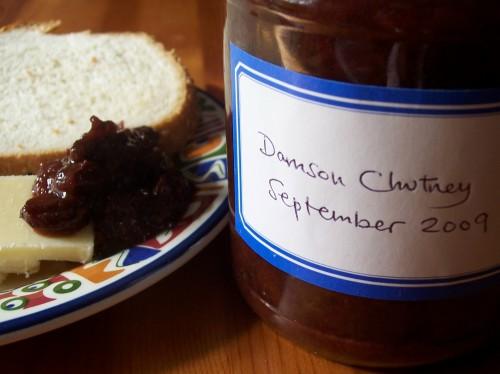 100_7981  Spiced Damson Chutney