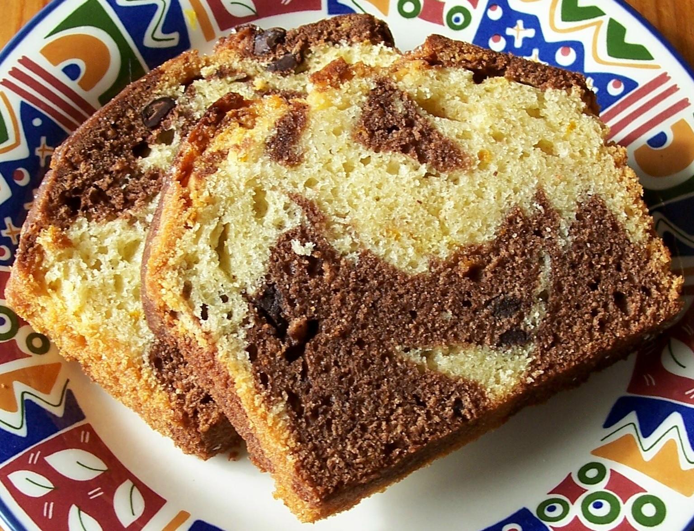 Bakery Style Marble Sponge Cake