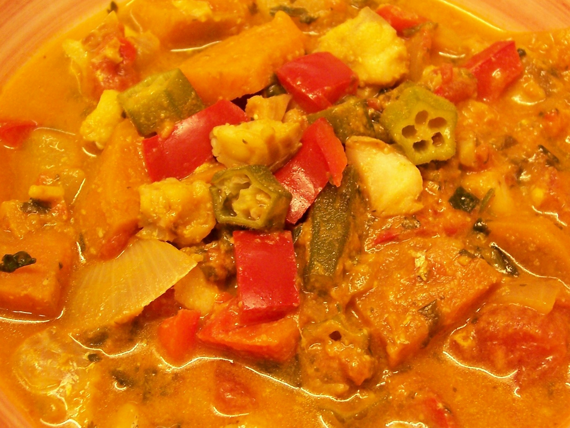 South Pacific Fish Stew | Meanderings through my cookbook