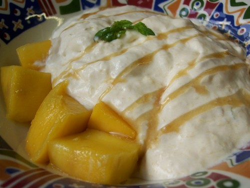 Sliced Mango With Sugared Lime Zest Recipes — Dishmaps