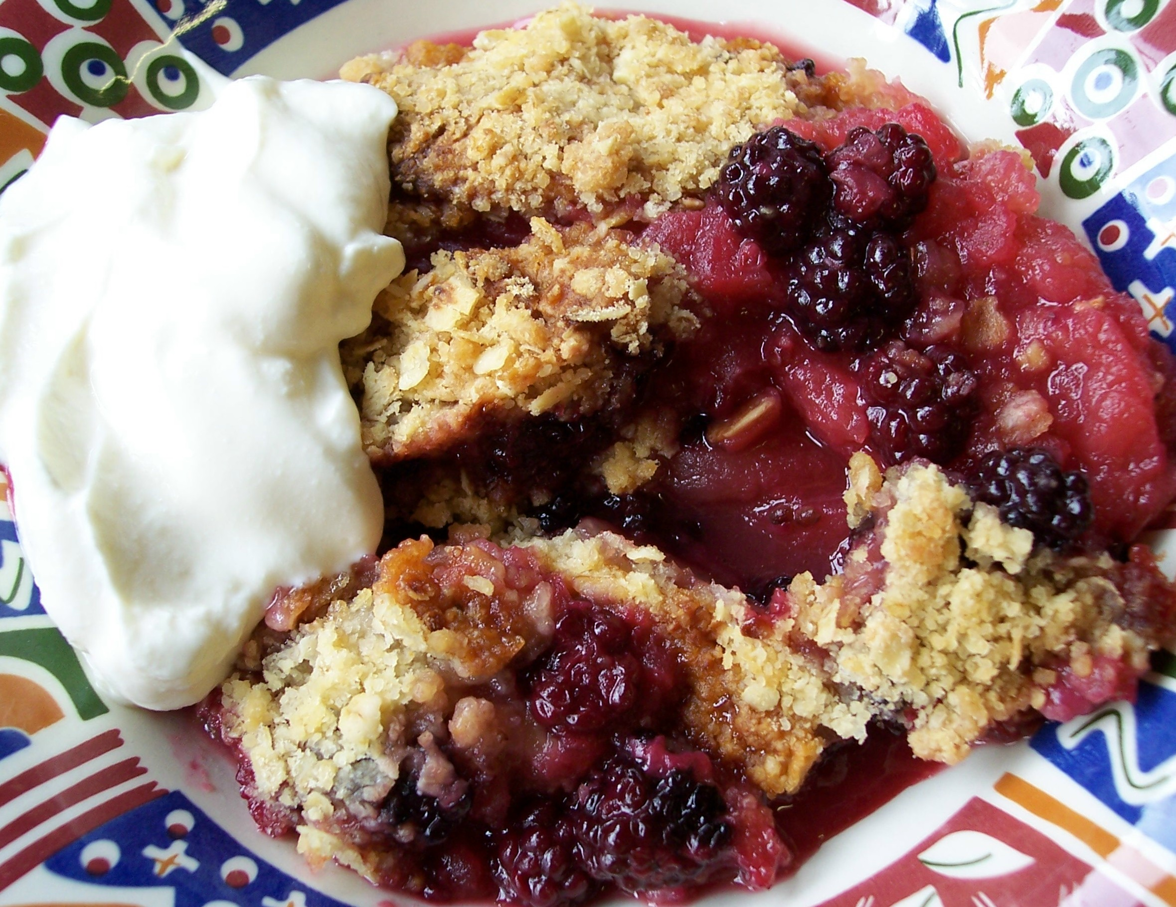 apple pie apple and blackberry crumble blackberry series 2 apple and ...