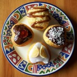 Mini Sweet Heart Cakes